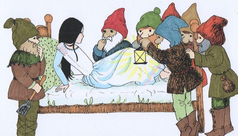 Η Χιονάτη και οι εφτά νάνοι